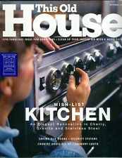 1998 This Old House Magazine: Kitchen/Scroll Saws/Hand Planes/Granite Countertop