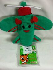 """Green Airplane 6"""" CVS Misfit Toys Rudolph the Red Nosed Reindeer"""