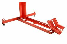 """Dragway Tools® 1500 LB Adjustable Chock Cradle Stand  for 35"""" Motorcycle Wheel"""