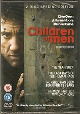 CHILDREN OF MEN - 2 Disc Special Edition. Clive Owen (NEW/SEALED 2xDVD SET 2010)