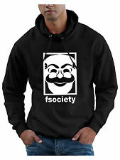 fsociety Hoodie Sweatshirt f society Mr Robot Hacker TV Series Hoody XS to 5XL