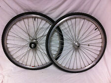 "20"" SUN ICI-1 MINI RIMS, ACS CLAWS HUBS & IRC TIRES Old School BMX Wheel Set"