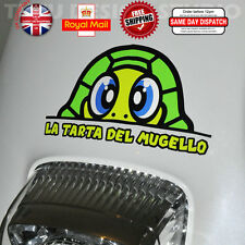 Valentino Rossi Tarta Turtle Helmet Decal Sticker Fluorescent Reflective F216