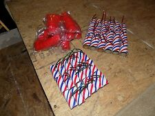25 Firework Tube Shells, for $19.00, w/fuse/ plastic plugs