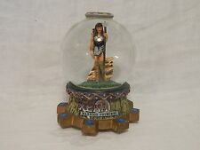 Rare Xena Warrior Princess Musical Snow Globe-Lucy Lawless