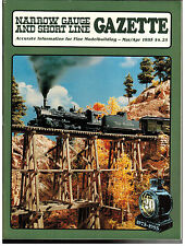 Narrow Gauge and Short Line Gazette : March/April 1995 : Volume 21 Number 1