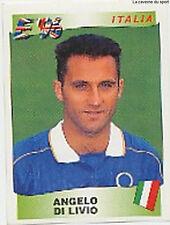 N°248 ANGELO DI LIVIO ITALIA ITALY PANINI EURO 1996 STICKER VIGNETTE 96