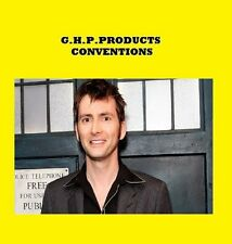 Doctor Who David Tennant CONVENTION USA 09 **RARE*LOOK*