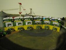 1/64 Ertl John Deere Lot of Model 70 (qty. 3) & Model 730 (Qty. 3)