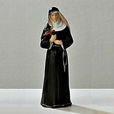 "St. Rita of Cascia Patron of Impossible Causes 3.5"" Inch Statue Catholic"