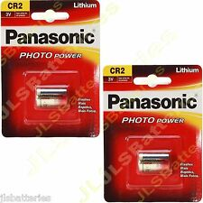 2 x Panasonic 3v  golf Bushnell V2 rangefinder Battery