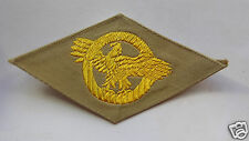 US ARMY 39-45 : INSIGNE TISSU FOND COULEUR SABLE