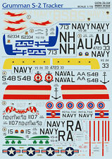 DECAL FOR GRUMMAN S-2 TRACKER 1/72 PRINT SCALE 72-104