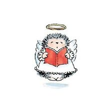 PENNY BLACK RUBBER STAMPS LITTLE ANGEL HEDGEHOG X-MAS