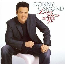 Love Songs of the '70s CD by Donny Osmond