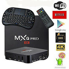 2017 New MXQ PRO 4K S905 Quad Core Android 5.1 WiFi 8GB Smart TV Box + Keyboard