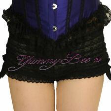 Yummy Bee Frilly Knickers Burlesque Ruffle Shorts Fancy Dress Pants Plus Size