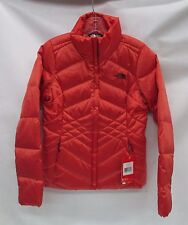 North Face Womens Aconcagua Jacket A2TDR Spiced Coral Size Small