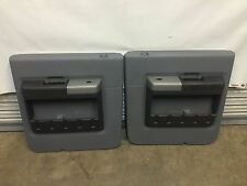 2008-2016 FORD F250 F350 F450 GRAY REAR DOOR PANELS AND SWITCHES