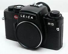 Leica R5 35mm Film Camera Body & strap - best example we have had - MINT