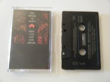 THE SISTERS OF MERCY FIRST AND LAST AND ALWAYS CASSETTE TAPE WEA MERCIFUL 1985
