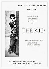 Charlie Chaplin poster The Kid