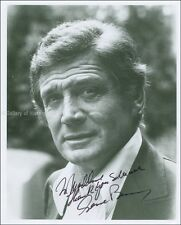 GENE BARRY - INSCRIBED PHOTOGRAPH SIGNED