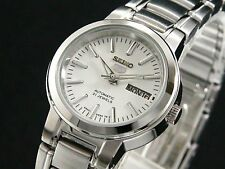 SEIKO 5 SYME39 SYME39K1 Ladies Automatic Self-Winding 30m WR White