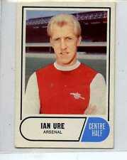 (Lr452-100) ABC Gum, Footballers Green Back, #59, Ure, Arsenal, 1969, VG