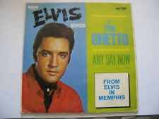 Elvis Presley Aust Vinyl 45 - In The Ghetto - RCA 47-9741 w/Cover