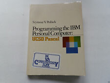 """VINTAGE (1983) BOOK: """"PROGRAMMING THE IBM PC - UCSD PASCAL"""" (POLLACK) Q"""