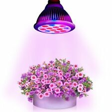 NEW Litom 36W LED E27 Plant Grow Light Hydroponic Full Spectrum Grow Lamp Bulb