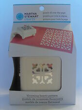 NEW MARTHA STEWART BLOOMING HEARTS PATTERN PUNCH ALL OVER THE PAGE 42-91014