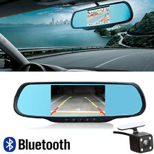 "Bluetooth 5"" HD 1080P Android WIFI Rear View Mirror GPS Navi Camera CAR DVR H700"