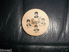 THE BEATLES ORIGINAL OFFICIAL 1960's WOODEN NICKEL COIN LOVELY CONDITION ACE !