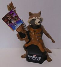 "GUARDIANS OF THE GALAXY ""ROCKET RACOON"" Bank Bust Statue Marvel Comics NWT"