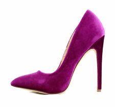 Liliana Pixie Pointy Toe Velvet Dress 5 Inch Heels Women Stiletto Shoes Pumps