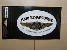 "Harley Davidson Small ""110th Anniversary"" Outside Decal"