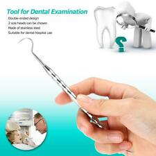 Stainless Steel Tooth Scaler Dental Examination Medical Teeth Cleaning Tool O7L8