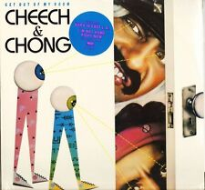 CHEECH & CHONG GET OUT OF MY ROOM LP RECORD