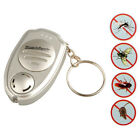 Ultrasonic Anti Mosquito Led Insect Repellent Repeller Keyring Keychain Killer