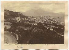 1910 PANORAMA PHOTO OF NAPOLI/ITALY BY SOMMER