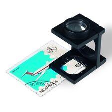 PIEGHEVOLE 10 X LENTE di ingrandimento-mano Reader in Wallet-FARO prodotto