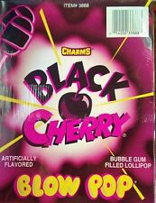 Charms Blow Pop Black Cherry Flavor  48 Count / 1.95 lbs