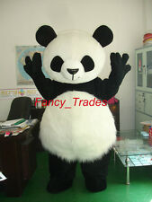 WHITE PANDA BEAR Mascot Costume Fancy Party Dress dance Adult Size Suit Animal