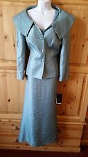 FRANK USHER RRP £229 MOTHER OF BRIDE DRESS JACKET OUTFIT SIZE 14/16 BNWT FORMAL
