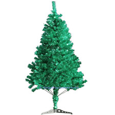 "72""/ 6FT Holiday Decor Pine Green Fake Artificial Christmas Tree Office W/Stand"