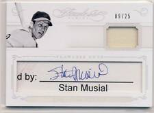 STAN MUSIAL 2016 Panini Flawless Cuts CUT AUTO AUTOGRAPH JERSEY 25 CARDINALS HOF