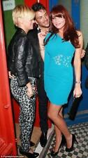 BNWT Gorgeous Amy Childs Lipsy Blue Embellished Size 8 Cocktail Party Dress New