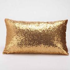Magic Glitter Sequins Pillow Case Throw Waist Cushion Cover Cafe Car Home Decor